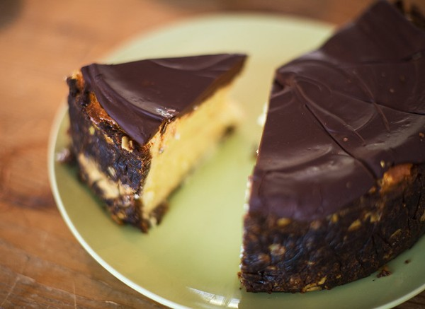 A chocolate-covered cheesecake at Chardonnay Deli. Photo supplied.
