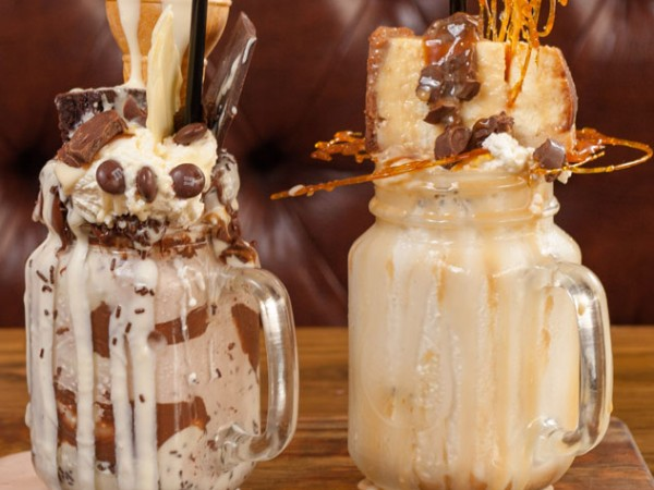 The OTT chocolate shakes at Craft. Photo supplied.