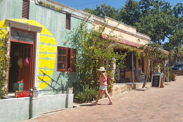 Colourful Short Street in Riebeek-Kasteel. Photo supplied.