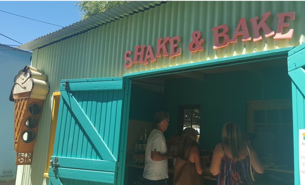 Shake & Bake in Riebeek-Kasteel. Photo supplied.