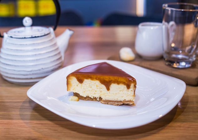 The cheesecake at SMAK. Photo supplied.