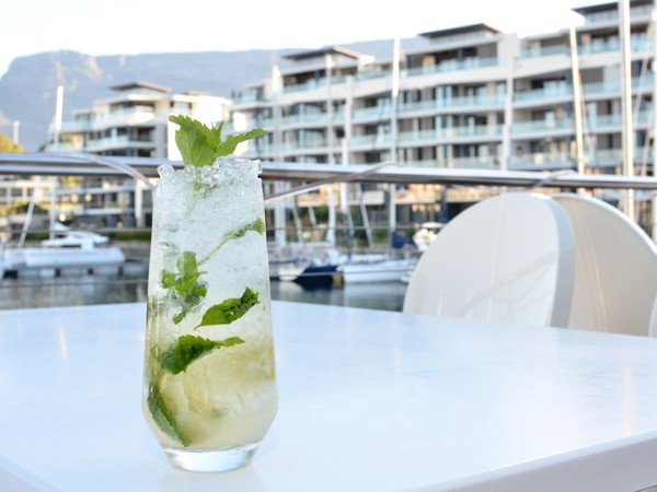 A refreshing drink at Vista Marina. Photo supplied.