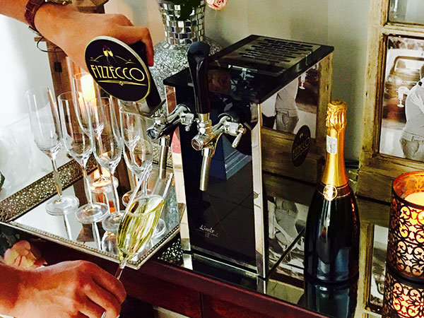 Bubbly on tap system is now available in SA and we are beyond ready