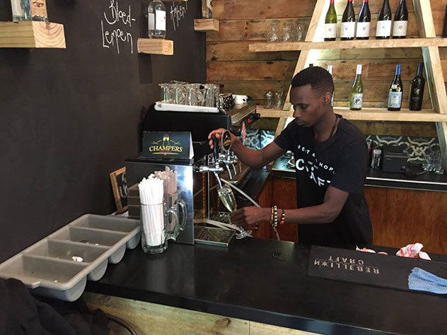The major benefit of course is for restaurants, who're now able to offer bubbly-by-the-glass without worrying about wastage. Photo supplied.