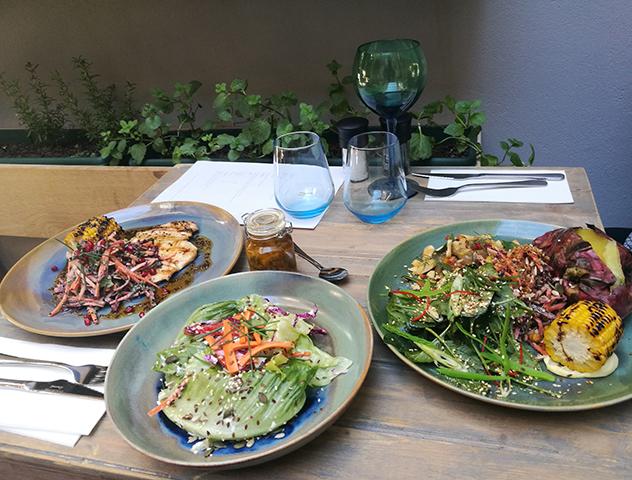 Homage salads