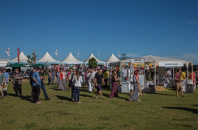 SA Cheese festival blue skies