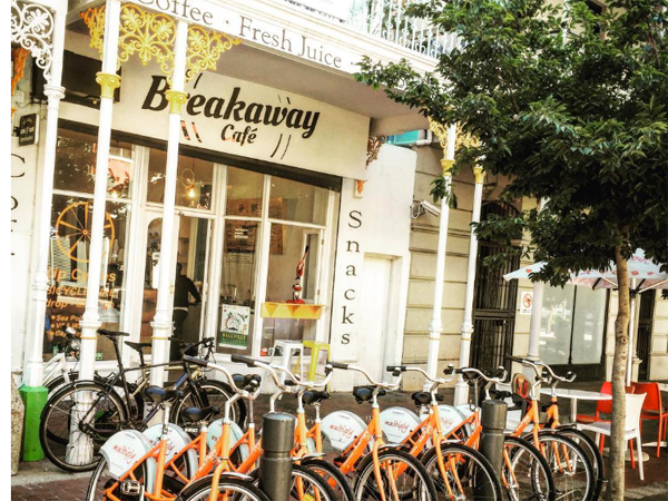 5 great cycling cafés in the Cape