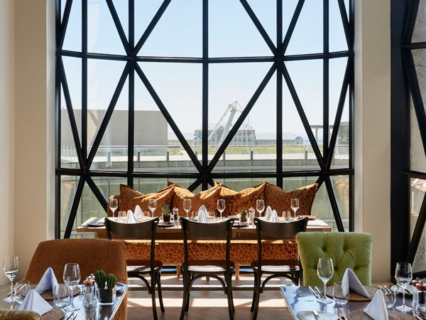 The Granary Café at The Silo Hotel