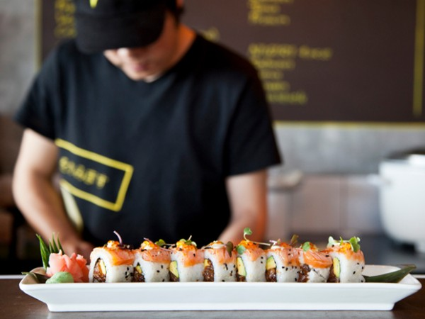 A plate of sushi at Manga in Mouille Point. Photo supplied.
