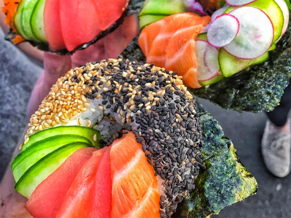The sushi doughnut that's taking the internet by storm is now available in SA