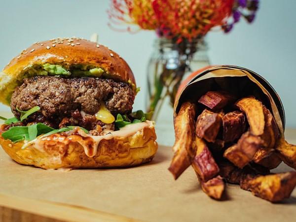 The whisky braai-BQ burger at IYO Burger. Photo supplied.