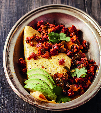 Chorizo omelette_A Bite of Latin America