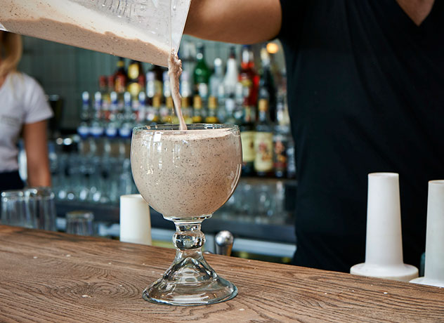 A Hudson's shake. Photo supplied.