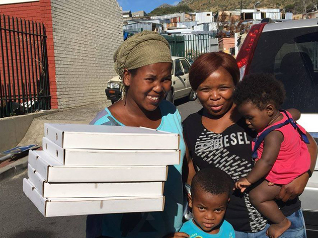Massimo's in Hout Bay supports their community through the Pay it Forward initiative. Photo supplied.