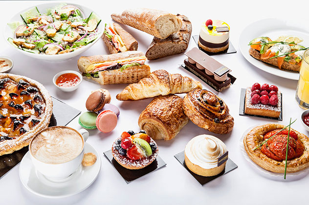 The selection of pastries is pretty mind-blowing. Photo supplied.
