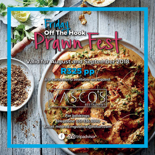 Off The Hook offering at Vasco's