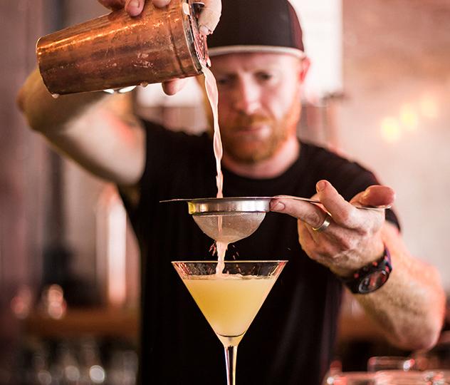 An apple martini. Photo by Michael le Grange.