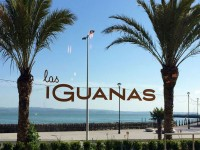 The Las Iguanas signage