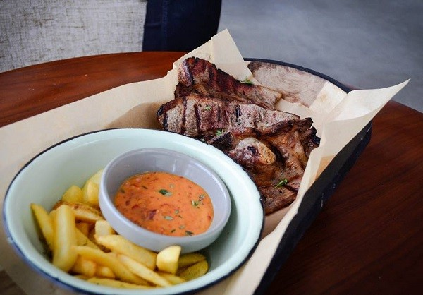 Beef brisket and chip bowl at The Joint Jazz Café. Photo supplied.