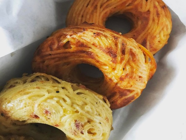 Spaghetti doughnuts? We have follow-up questions