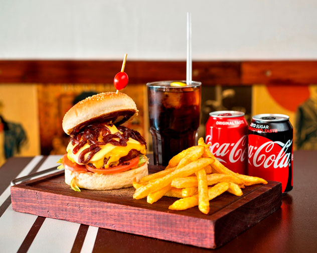 Burger special at Burger Bistro