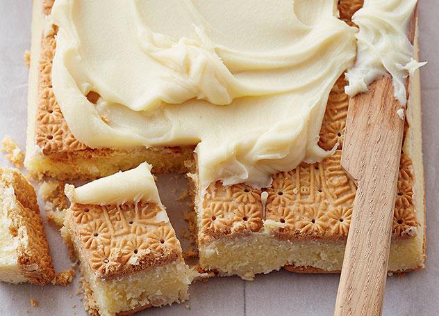 Coconut squares. Photo courtesy Cleta Joannou's Condensed Milk: everyone's guilty secret.