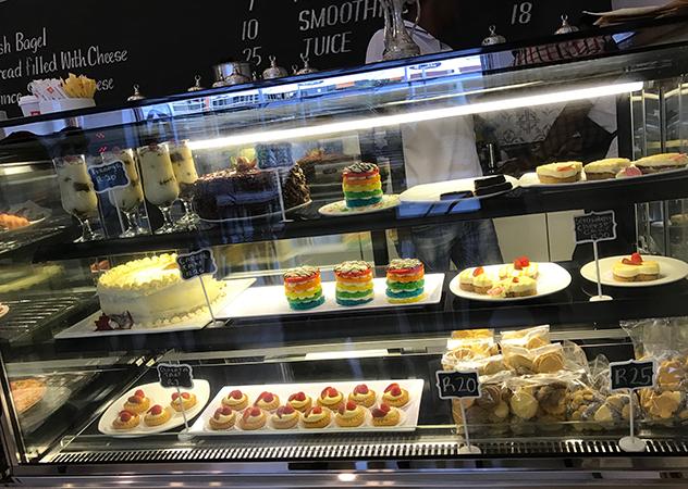 Galata display counter