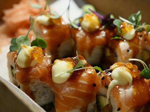 Sushi at the Mojo Market. Photo supplied.