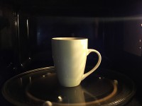 Microwaving tea