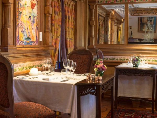 The opulent setting for the collaboration will be at Restaurant Mosaic. Photo by Jan Ras.
