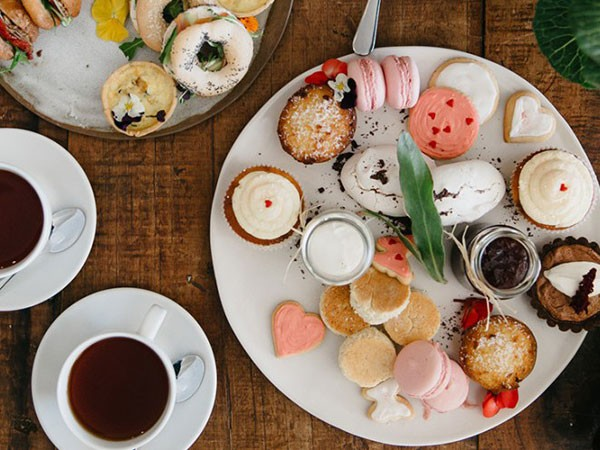 The spread at the Mother's Day high tea at Spier. Photo supplied.