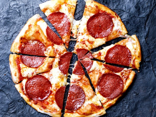 A pepperoni pizza from Col'Cacchio. Photo supplied.