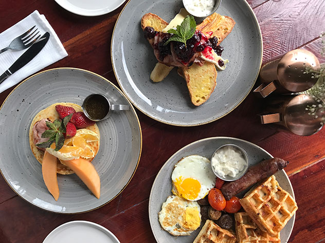 Some of the brunch options at The Countess. Photo supplied.