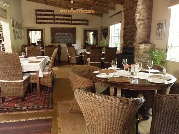 The cosy interior at Abingdon Wine Estate. Photo supplied.