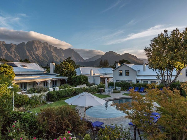 The Franschhoek setting for La Petite Colombe. Photo supplied.