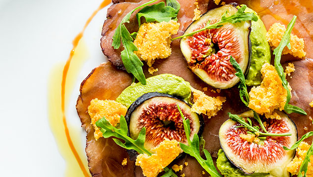 Figs and ham at 9th Avenue. Photo supplied.