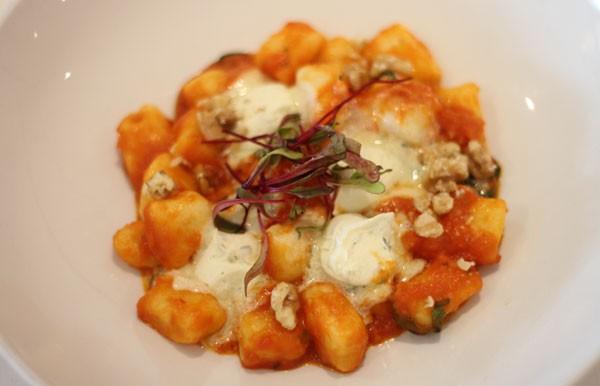 Cafe del Sol Classico's gnocchi with pomodoro sauce and gorgonzola. Photo supplied.