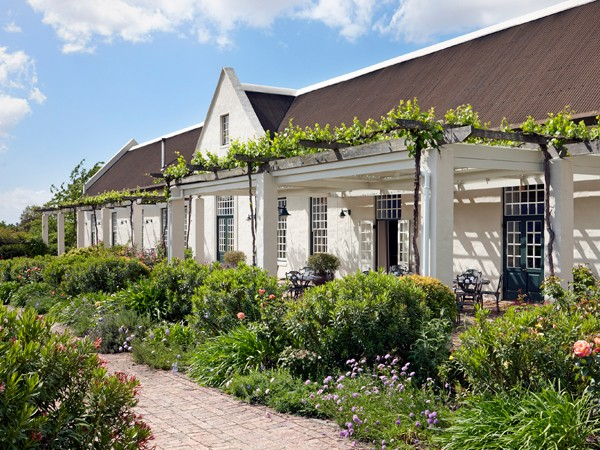 The beautiful setting at Faber in Paarl. Photo supplied.