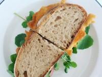 Fish sandwich at La Tete