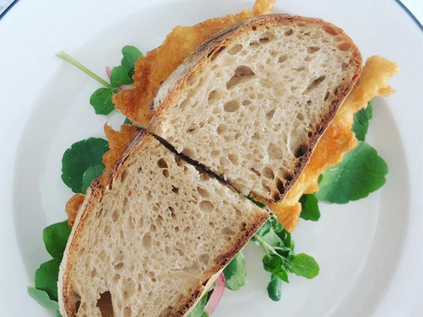 Eat this now: The fish sandwich at La Tête on Bree Street, Cape Town