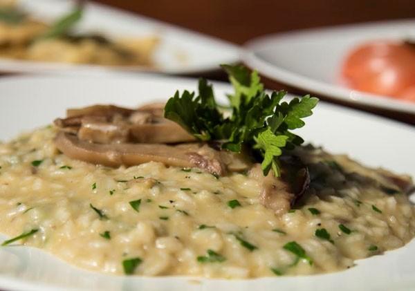 Porcini mushrooms are the star of Moda' Ristorante's risotto. Photo supplied.