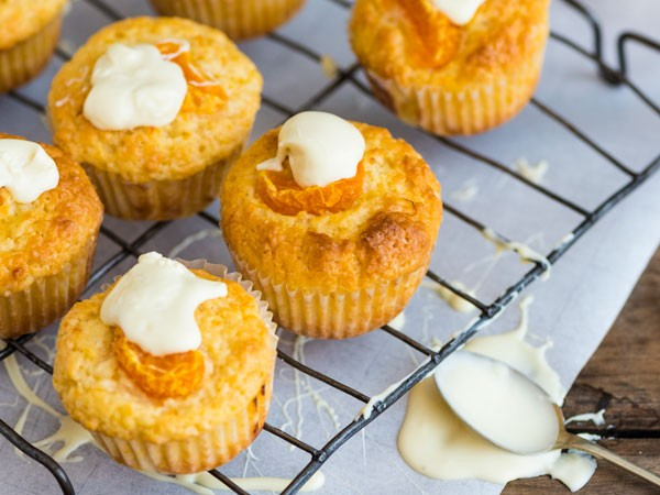 These zesty muffins make for a delicious teatime treat. Photo supplied.