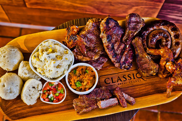 The meat selection at Classique Braai Lounge. Photo courtesy of restaurant.