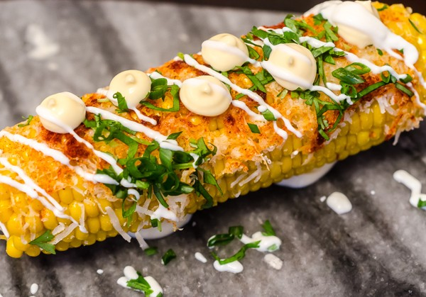 Mexican corn on the cob from El Tostada at The Midlands Kitchen. Photo supplied.