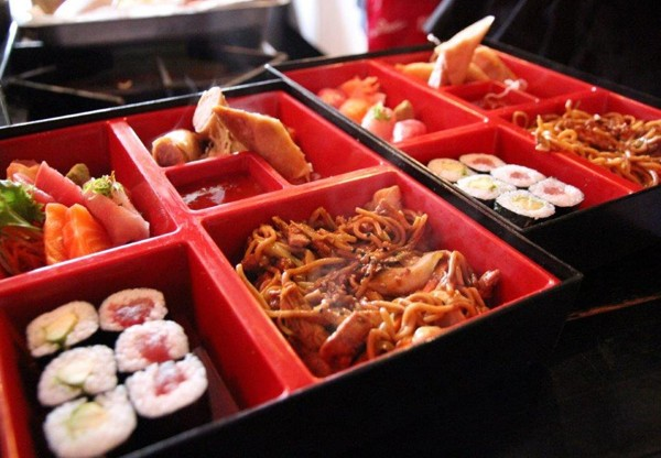 A bento box at Genki. Photo supplied.