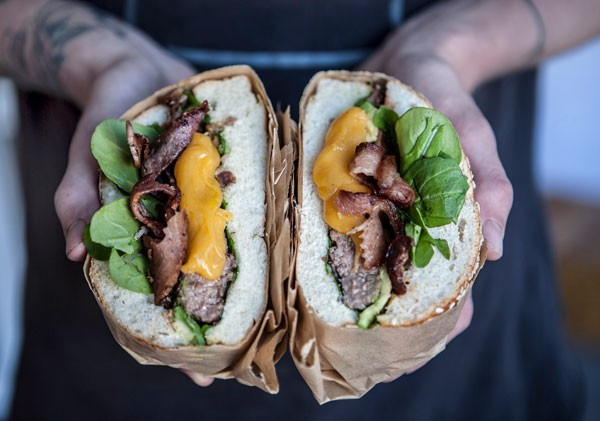 IYO's Whiskey Braai-BBQ burger. Photo supplied.