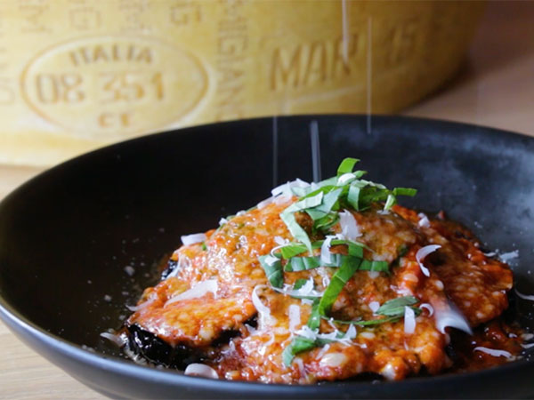 Watch: How to make Melanzane alla Parmigiana with Parmigiano Reggiano