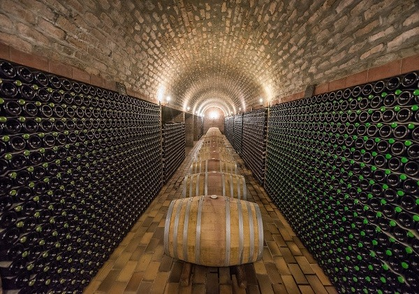 One of the cellars available to tour. Photo supplied.