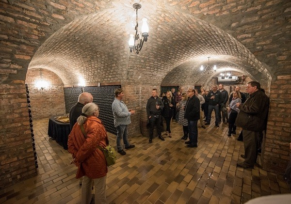 Go on a guided cellar tour. Photo supplied.