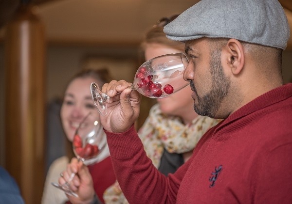 A part of the wine tasting experience. Photo supplied.